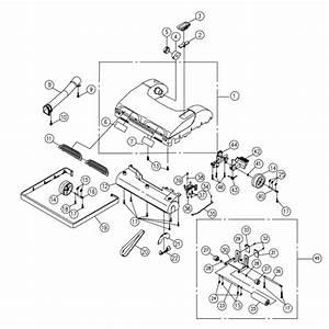 Simplicity 7350 Vacuum Parts