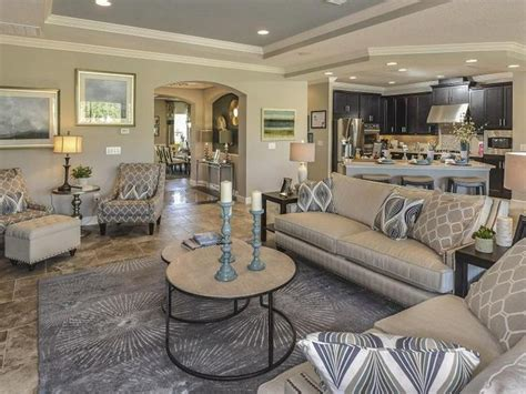 Home Decor 99 : Nice Great Transitional Living Room With Crown Molding By