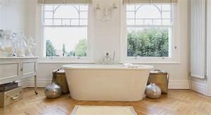 Parquet Stratifié Salle De Bain : quel sol pour sa salle de bain ~ Melissatoandfro.com Idées de Décoration
