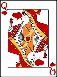 Queen of Hearts Vector Art image - Free stock photo ...