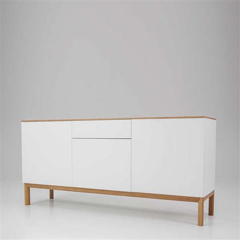 Sideboard Eiche Modern by Wohnzimmer Sideboard Drascuna In Wei 223 Eiche Pharao24 De