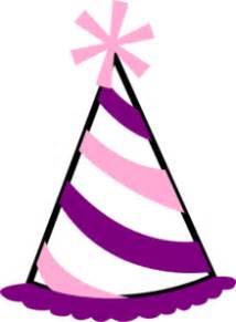 pink  purple party hat clip art  clkercom vector