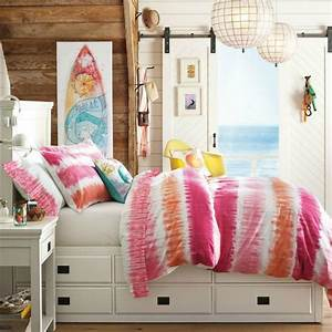 Pink and Orange for a Girl's Bedroom Driven by Decor