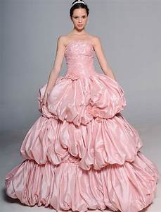 pink wedding dress trends 2016 fashion fuz With pink wedding party dresses