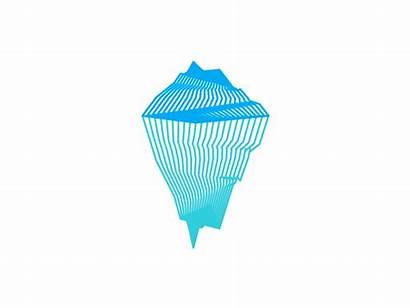 Iceberg Symbol Shape Variations Shapes Dribbble Tech