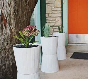 Pot Exterieur Pas Cher : pot de fleur design et pas cher jardin ~ Melissatoandfro.com Idées de Décoration