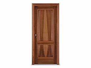 Hinged wooden door CLASSIC By Ghizzi & Benatti