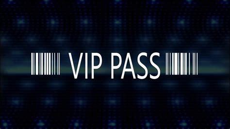 foto de VIP PASS Tarjeta de invitacion con codigo de barras