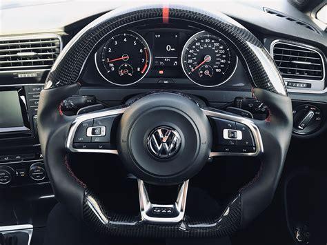Volante Golf 7 by Vw Golf 7 Gti Custom Steering Wheel Carbon Fibre