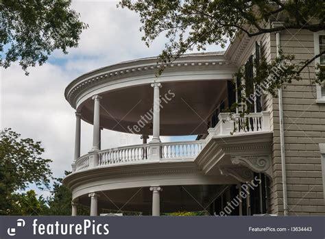 architectural details  story  veranda stock
