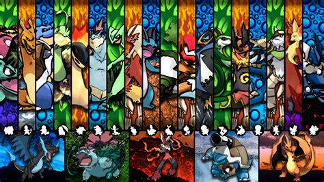 pokemon starters wallpapers gamers wallpaper p
