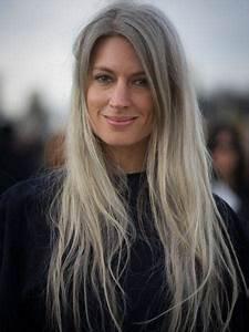 Graue Haare Der Silberne Trend