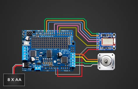 circuit diagram bluetooth controlled motorized camera