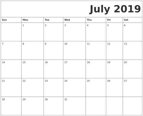 calendar july printable qualads