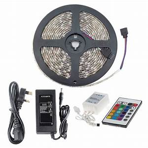 Rgb Led Strip Kit Ip65 Smd5050 5m With Remote