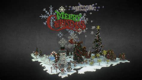 minecraft christmas decorations  model  mraniman