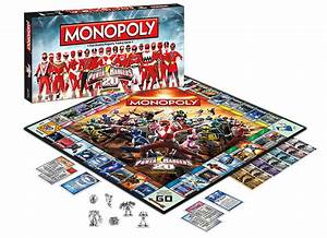 Henshin Grid  Power Rangers Monopoly And Trivial Pursuit Boxes