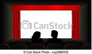 Movie Screen Vector Clipart