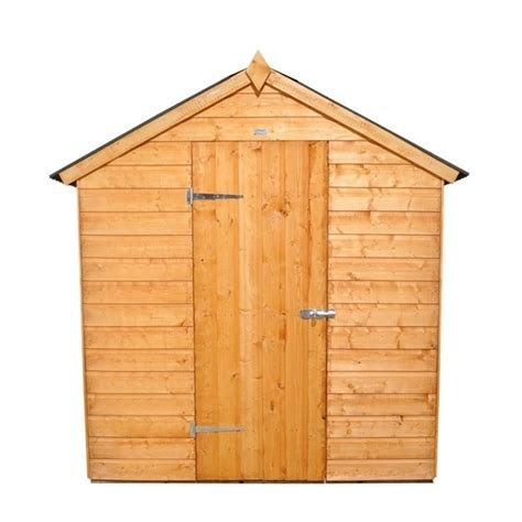 Shiplap Or Tongue And Groove Shed - 8 x 6 shiplap tongue and groove apex shed with onduline