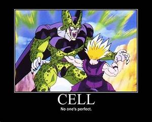 Interesting or ... Dragon Ball Cell Quotes