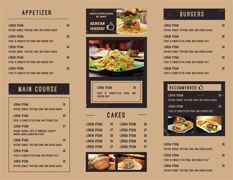 menu cuisine menu food food
