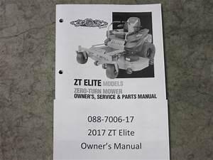 088-7006-17 - 2017 Zt Elite Owner U0026 39 S Manual