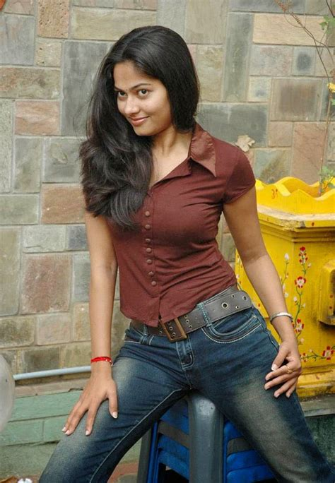 suhasini hot photoshoot  tight tshirt  jeans