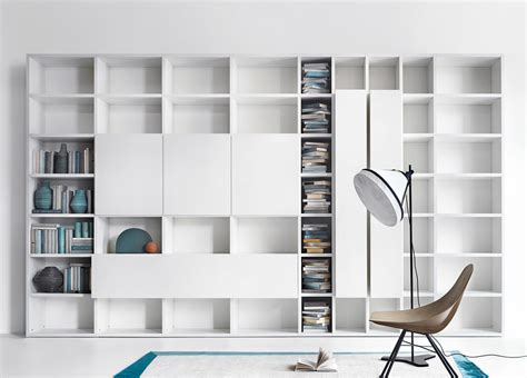 wall to wall bookcases lema selecta 03 wall unit bookcase customisable