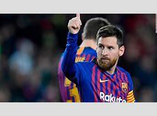 Lionel Messi scores 400th La Liga goal for Barcelona CNN
