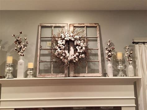 window frame decor magnolia market cotton wreath hgtv fixer upper for the home pinterest fixer upper