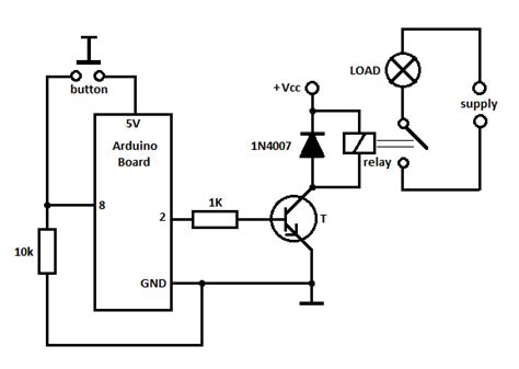 12v Relay Schematic Diagram by How To Start A Motorcycle With An Output Of 5v From
