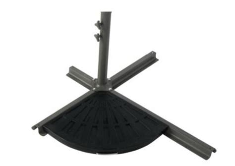 set of 2 cantilever parasol base weights 14kg each for