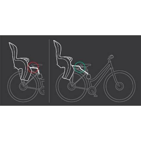 montage siege velo hamax hamax 603078 rehausseur pour siege vélo et sleppy