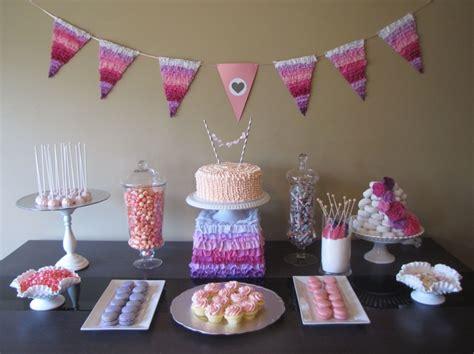 pink dessert table baby shower dessert table pretty in pink baby shower