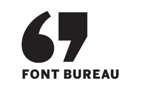 font bureau fonts the type directors promoting excellence in