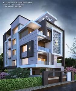 Modern, Villa, Exterior, Designs