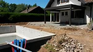 paysagiste thonon les bains piscine paysagiste haute With amenagement autour piscine bois 15 creation dallees de jardin avec des dalles et pas