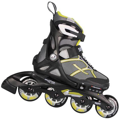 inline skates kinder rollerblade spitfire fx kinder inlineskates black yellow