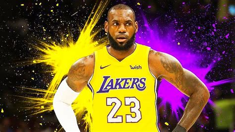 lebron james signs  year  deal  lakers