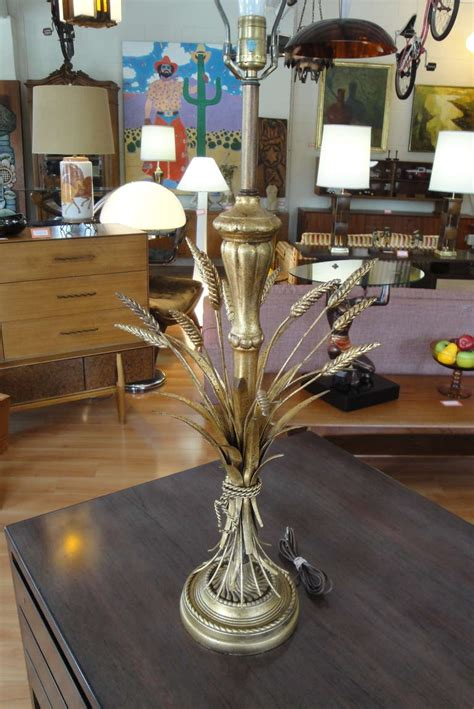 frederick cooper sheaf of wheat table l at 1stdibs