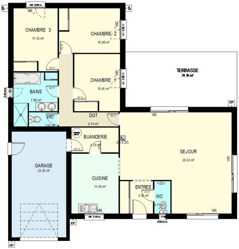 plan amenagement cuisine gratuit construction 86 fr gt plan maison traditionnelle de 109 m