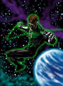 Green Lantern - Green Lantern Fan Art (9910106) - Fanpop