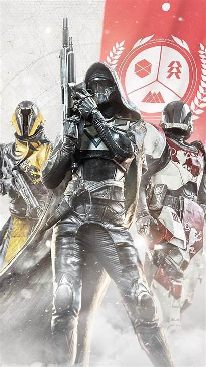 Destiny Wallpapers 4k Guardians Hunter Iphone Titan