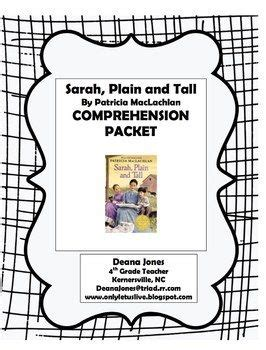 9 Best Images About Sarah Plain And Tall Unit On Pinterest  Activities, Comprehension And Novels