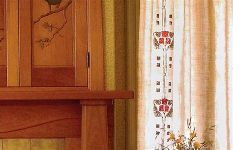 easy craftsman era curtains arts crafts homes and the