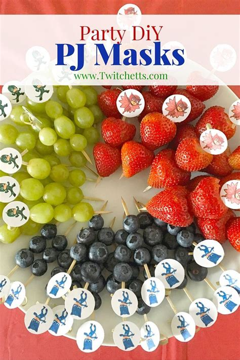 masking cuisine 93 best images about pj masks birthday ideas and