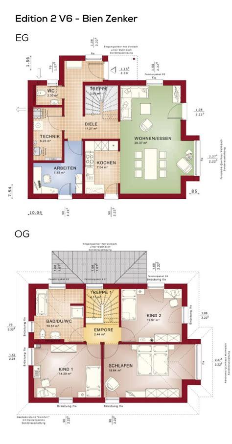 Stadtvilla Grundrisse 140 Qm by Grundriss Einfamilienhaus Stadtvilla Modern Mit Klinker