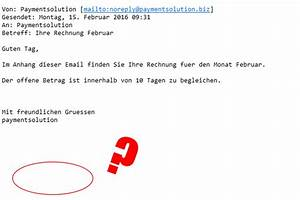 Payment Solution Rechnung : ihre rechnung februar von paymentsolution tr gt malware mimikama ~ Themetempest.com Abrechnung