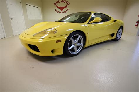See the 2001 ferrari 360 spider f1 in los angeles, ca for $64,777 with a vin of zffyt53a910122953. 2001 Ferrari 360 Modena Modena F1 Stock # 16266 for sale near Albany, NY | NY Ferrari Dealer For ...