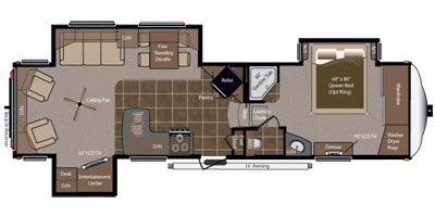 Montana 5th Wheel Floor Plans 2011 2011 keystone rv montana hickory fifth wheel series m 3150